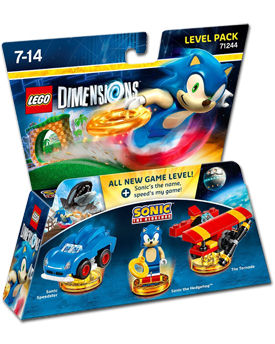 LEGO Dimensions Level Pack: Sonic The Hedgehog (71244)