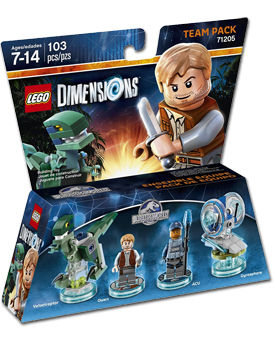 LEGO Dimensions Team Pack: Jurassic World (71205)
