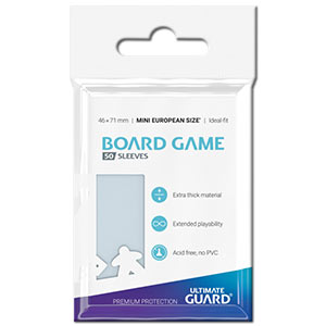 Board Game Premium Soft Sleeves 46 x 71 mm
