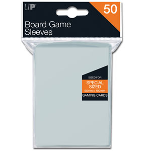 Board Game Sleeves 65 x 100 mm