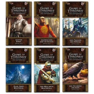 Game of Thrones: Der Eiserne Thron - Das Kartenspiel (2. Edition) Chapter Pack Set 1 - Westeros-Zyklus