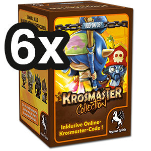 Krosmaster Collection Figuren Serie 3 - 6er Set