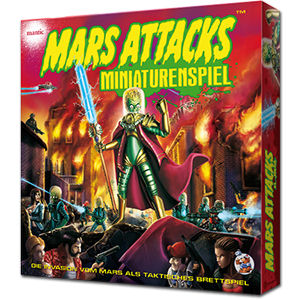 Mars Attacks - Miniaturenspiel