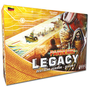 Pandemic Legacy Season 2 (Yellow Version)