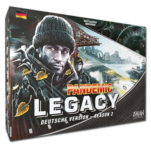 Pandemic Legacy Season 2 (Black Version)