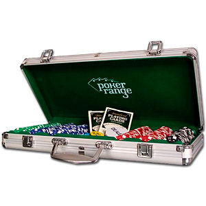 Poker Chip Set Standard - Alu Case 300 Chips