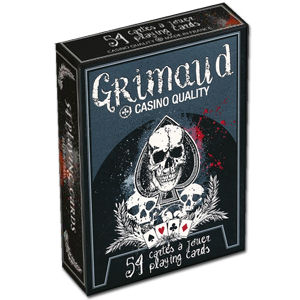 Poker Cards Grimaud Death Game