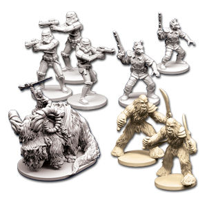 Star Wars: Imperial Assault Erweiterung - Figuren-Set 3
