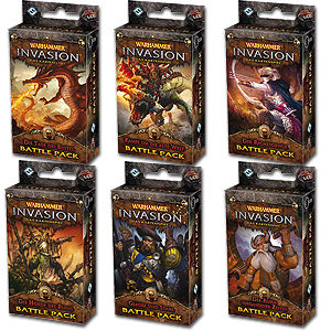 Warhammer Invasion: Battle Pack Set 6 - Zyklus Endloser Krieg
