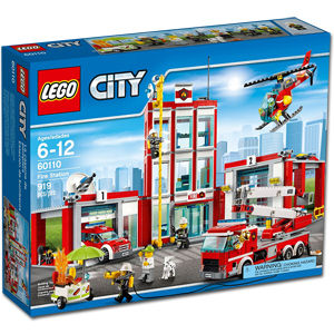 LEGO City: Grosse Feuerwehrstation (60110)