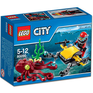 LEGO City: Tiefsee-Tauchscooter (60090)