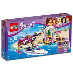 LEGO Friends: Andreas Rennboot-Transporter (41316)