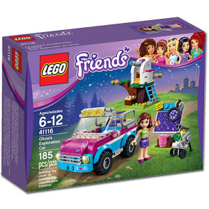 LEGO Friends: Olivias Expeditionsauto (41116)
