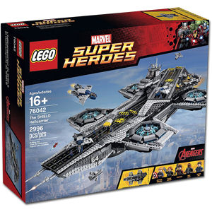 LEGO Super Heroes: The SHIELD Helicarrier (76042)