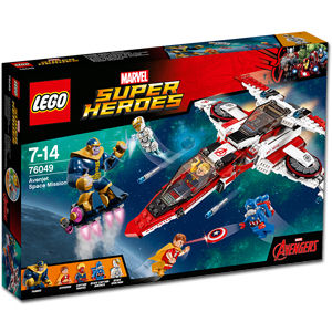 LEGO Super Heroes: Avenjet Weltraummission (76049)
