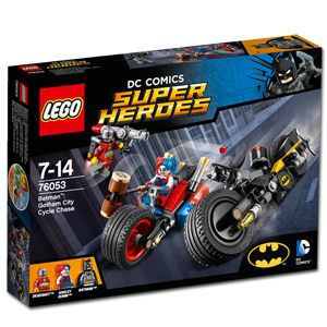 LEGO Super Heroes: Batman - Batcycle Verfolgungsjagd in Gotham City (76053)