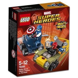 LEGO Super Heroes: Mighty Micros - Captain America vs. Red Skull (76065)