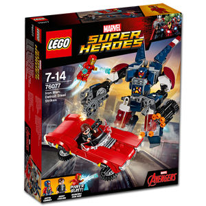 LEGO Super Heroes: Iron Man gegen Detroit Steel (76077)