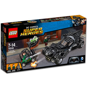 LEGO Super Heroes: Kryptonit-Mission im Batmobil (76045)