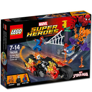 LEGO Super Heroes: Spider-Man - Ghost Riders Verbündete (76058)