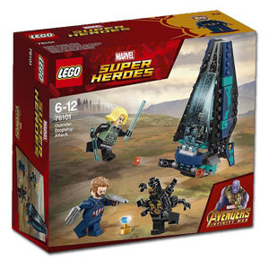 LEGO Super Heroes: Outrider Dropship-Angriff (76101)