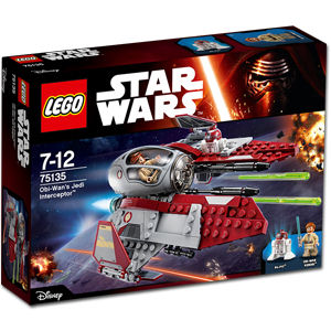 LEGO Star Wars: Obi-Wan's Jedi Interceptor (75135)