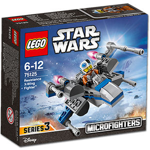 LEGO Star Wars: Resistance X-Wing Fighter -Microfighters- (75125)