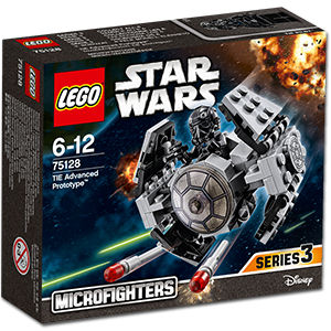 LEGO Star Wars: TIE Advanced Prototype -Microfighters- (75128)