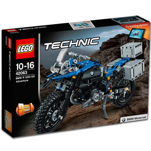 LEGO Technic: BMW R 120 GS Adventure (42063)