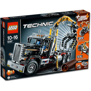 Lego Technic: Holztransporter