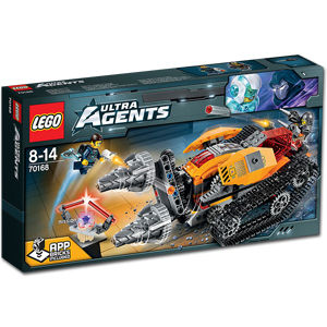 LEGO Ultra Agents: Drillex Diamanten Diebstahl (70168)