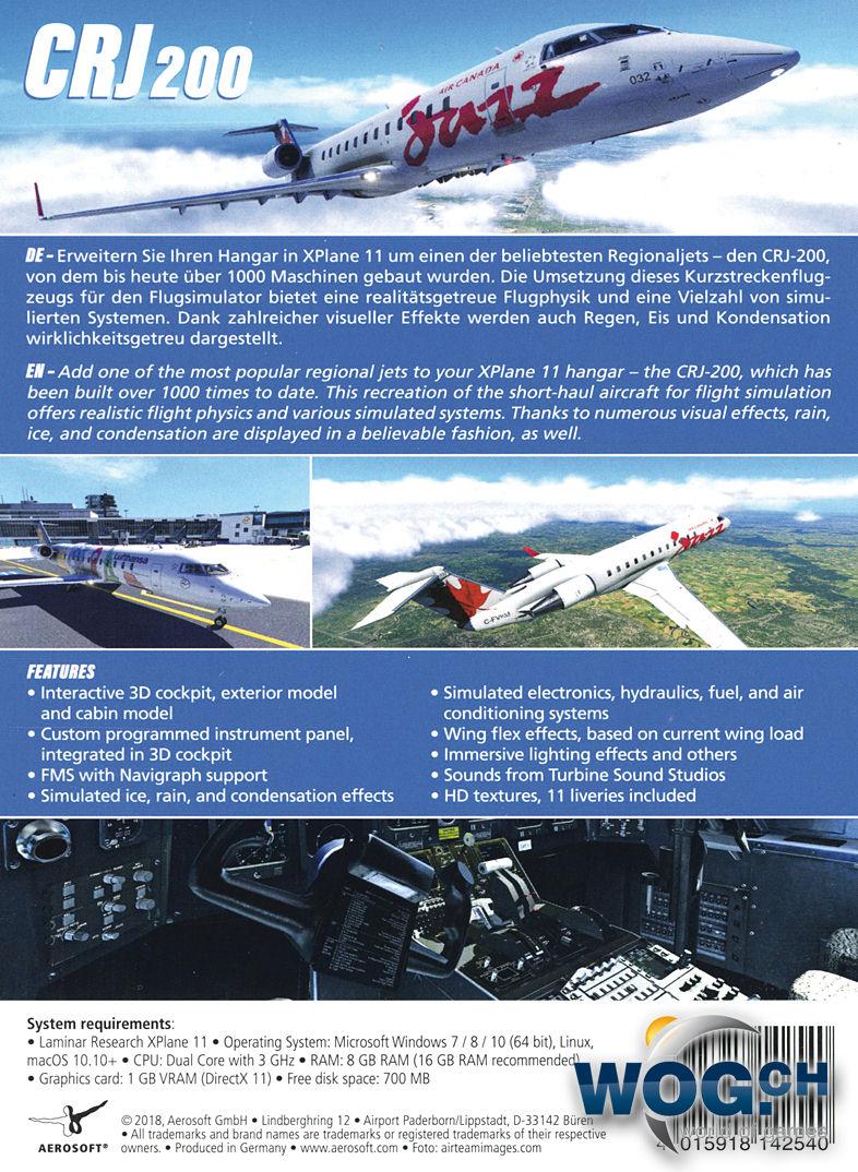 XPlane 11: CRJ-200