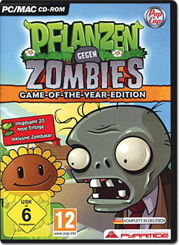 Pflanzen gegen Zombies - Game of the Year Edition