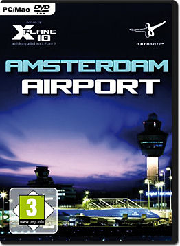 X-Plane 10 Add-on: Airport Amsterdam