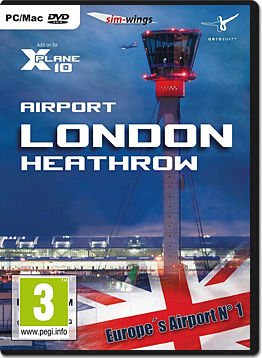 XPlane 10: Airport London Heathrow