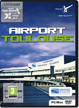 X-Plane 10 Add-on: Airport Toulouse