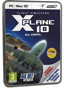 X-Plane 10 Global - Bundle (inkl. 3 Add-ons)