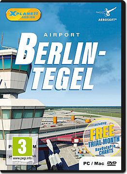 XPlane 11: Airport Berlin-Tegel