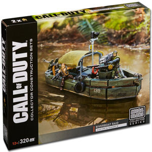 MEGA BLOKS Call of Duty: Riverboat Raid (DPB56)