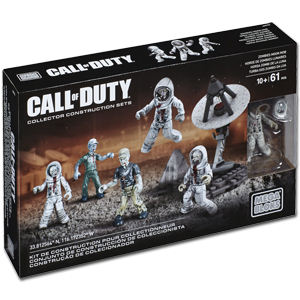 MEGA BLOKS Call of Duty: Zombie-Mond-Mob (DMT52)