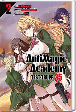 AntimagiC Academy: Test-Trupp 35, Band 02