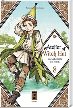 Atelier of Witch Hat 08 - Limited Edition