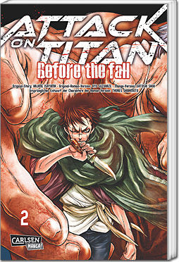 Attack on Titan: Before the Fall, Band 02