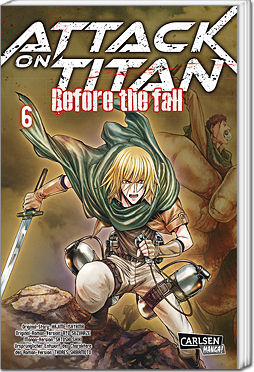 Attack on Titan: Before the Fall, Band 06
