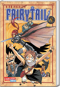 Fairy Tail, Band 08