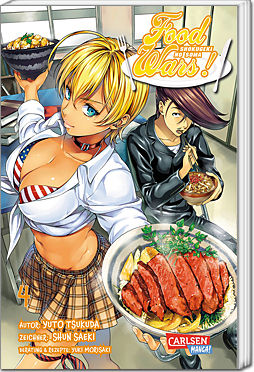 Food Wars - Shokugeki no Soma, Band 04