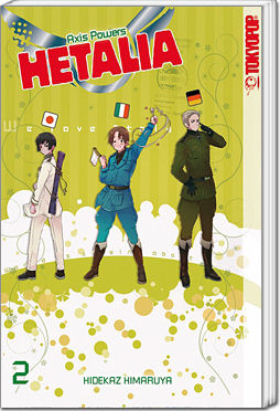 Hetalia: Axis Powers, Band 02