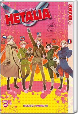 Hetalia: Axis Powers, Band 03