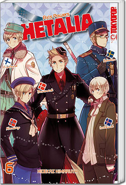 Hetalia: Axis Powers, Band 06