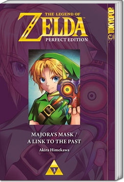 The Legend of Zelda - Perfect Edition, Band 03: Majora's Mask & A Link to the Past